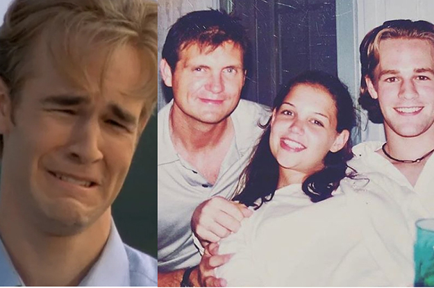 """Katie Holmes Posted A Heartfelt Message And #TBT Photo In Honor Of """"Dawson's Creek"""""""