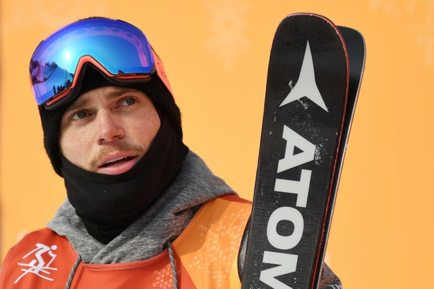 Gus Kenworthy Just Rescued Another Dog At The Olympics, This Time From A Meat Farm