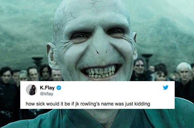 14 Tweets About J.K. Rowling Guaranteed To Make You Laugh