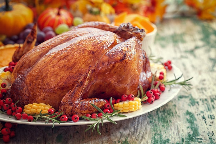 Yes, turkey has tryptophan, but so do lots of foods you eat every day. In fact, chicken and beef have as much tryptophan as turkey.