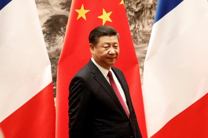 Xi Jinping in Beijing, Jan. 9.