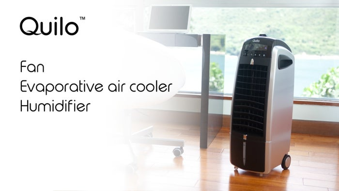 Quilo doubles as an evaporator cooler and humidifier - all while staying below 40 decibels. That's as quiet as a whisper! This 13 pound, wheeled machine has received $80,203 in funding with an original goal of $40,000. 649 backers have helped this eco-friendly, dry skin-saving gadget more than double its goal. And it's no wonder! Quilo uses the same amount of energy as a common light bulb - that's ten times less than a window A/C unit!