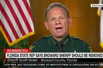 The Broward Sheriff Just Said He Won't Resign