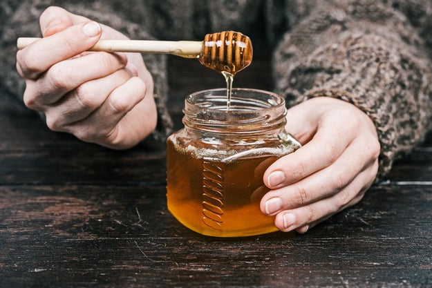 Honey will never go off.
