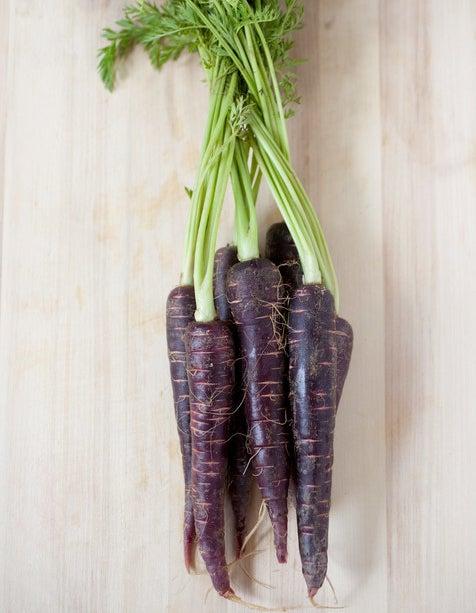 Carrots were originally purple.