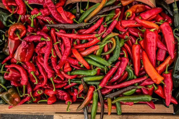 Chili peppers trick your mouth into