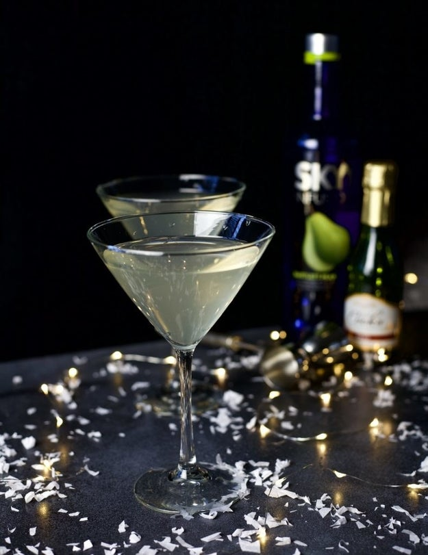 Sparkling Pear Martini