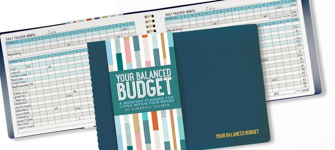 """It has monthly tables to let you write down your expenses by category, and it offers basic tips for budgeting! Plus, it has two years worth of pages to really get your shit together!  Promising review: """"It's simple to use and easy to keep organized. Some pages do not really apply to me, but I would still highly recommend it. This planner gives you the ability to organize and stay as simple or complex as you wish."""" —JanelPrice: $4.99"""