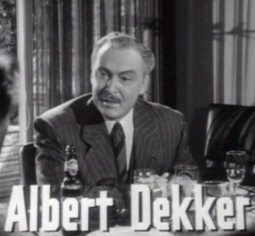 "Albert Dekker was a famous actor known for Kiss Me Deadly. In 1968, after going missing for a few days, his fiancé found him naked and kneeling in his bathroom tub. He was bound by chains, and a noose was wrapped around his neck and hung from a curtain rod. Hypodermic needles were stuck in both of his arms, and slurs were written all over his body with red lipstick. The police ruled it a suicide, which the coroner and press rejected. No further investigation was done, and the official ruling was an ""accidental death from auto-erotic asphyxiation."" No suspects were found."