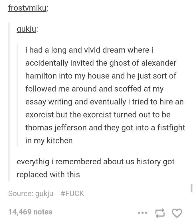 a strange dream i had essay
