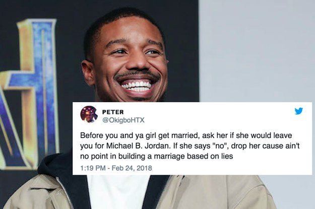 19 Hilarious Tweets About Michael B  Jordan That Are Relatable AF