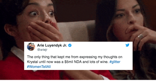 "Just 20 Perfect Tweets About Last Night's Insane ""Bachelor: The Women Tell All"" Special"