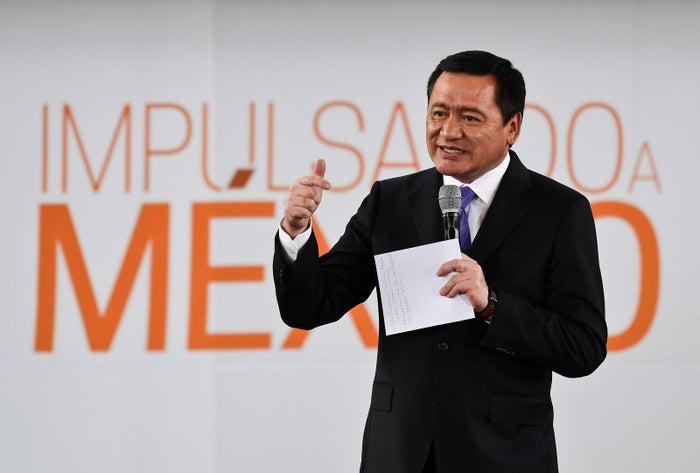 Former secretary of the interior Miguel Ángel Osorio Chong.