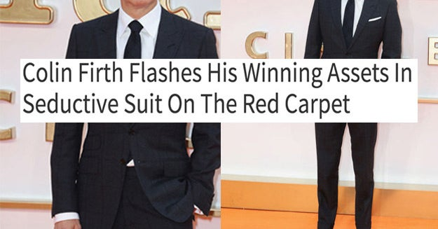 10 Pictures That Show What It'd Look Like If Men On The Red Carpet Were Talked About Like Women