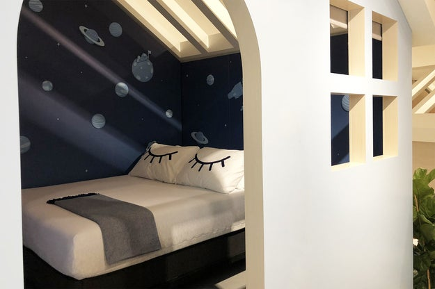 """The 3,000-foot """"sleep shop"""" at 627 Broadway in New York has six """"birdhouses,"""" constructed to resemble bedrooms where shoppers can try out Casper's mattresses and adjustable bed frames."""