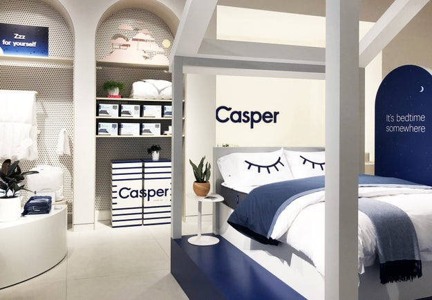 Casper, the once online-only mattress company, has joined the ranks of the many other digitally native businesses that now have physical retail stores.