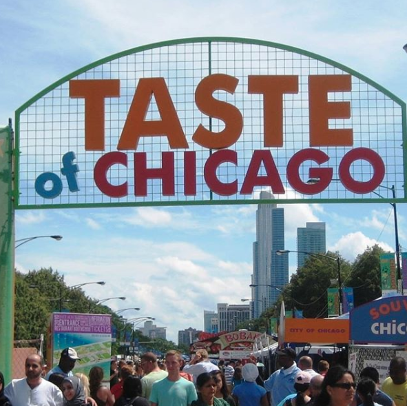 Because every summer we host the world's largest food festival.