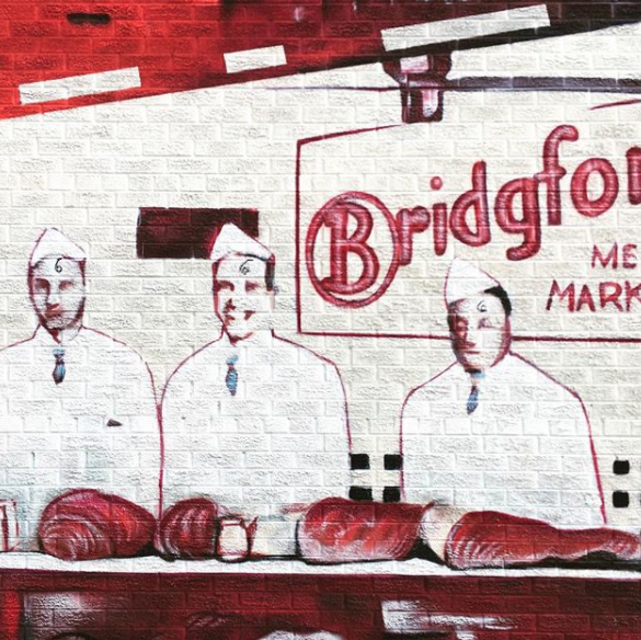 Because our meatpacking district is still home to premier butcher shops and actual meat.