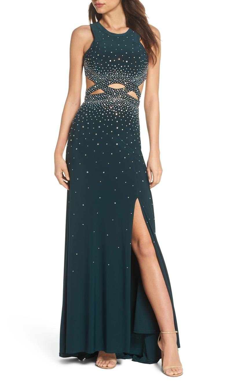 779f86657c Nordstrom carries classy prom dresses from many different designers for a  look that s red carpet–ready. Share On Facebook Share ...