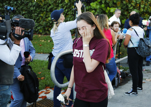 Students and survivors returned to Marjory Stoneman Douglas High School on Wednesday morning as classes resumed for the first time since the Feb. 14 shooting that left 17 of their classmates and faculty members dead.
