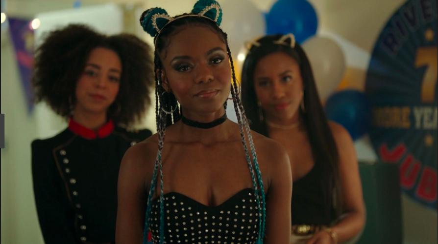 Groupe de lesbiennes noires