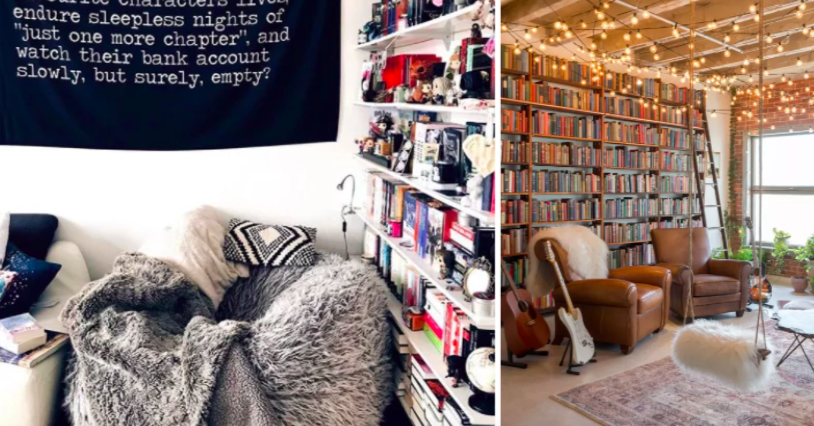 17 Home Libraries That Will Make You Want To Pick Up A Book ASAP