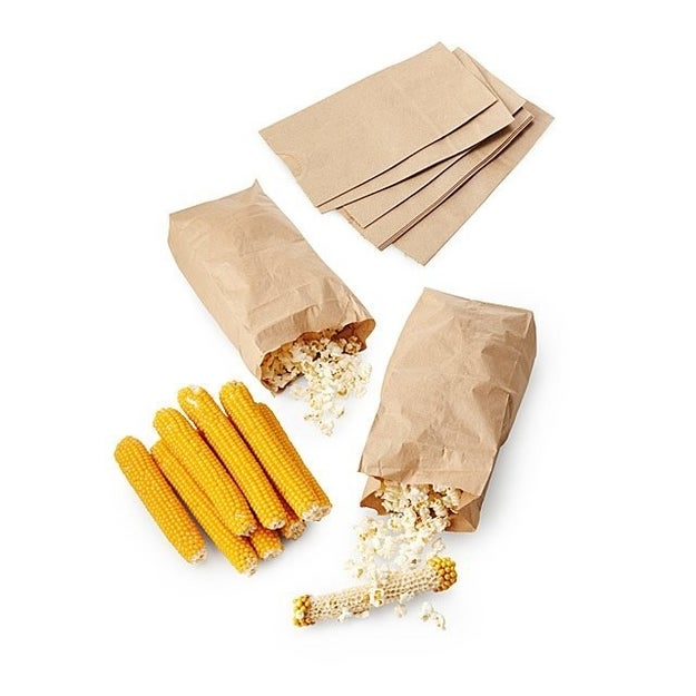 A popcorn making kit for popping corn right on the cob. Your next movie party is going to be poppin'!