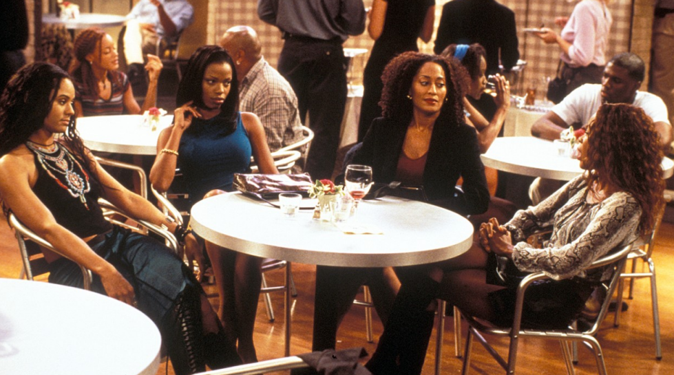 The cast of Girlfriends