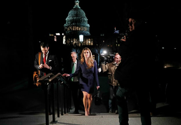 News broke Wednesday that White House Communications Director Hope Hicks planned to resign in the coming weeks. What??