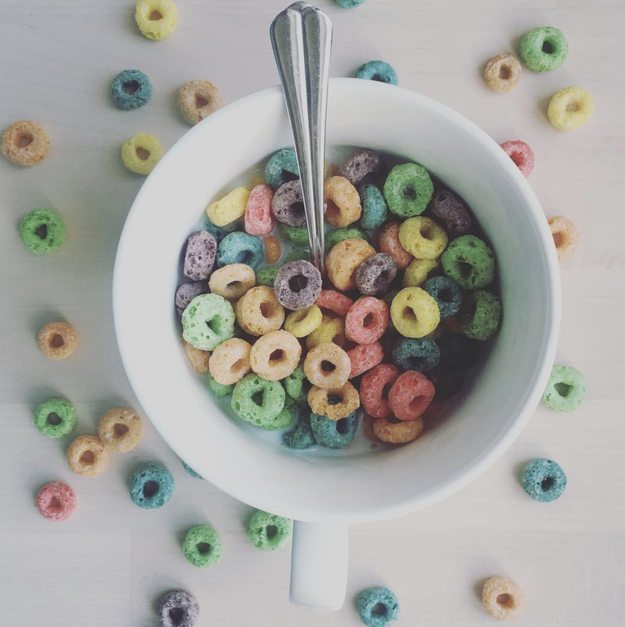 Despite being different colors, all Froot Loops are the same flavor.