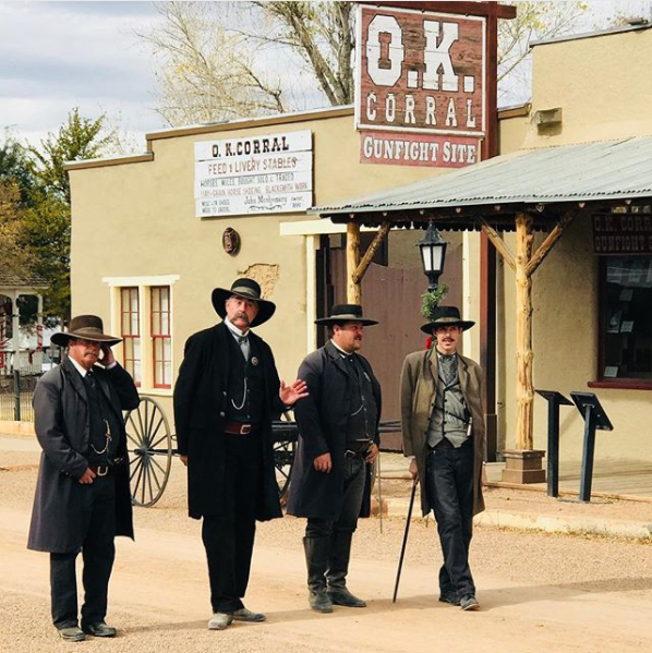 If you live in Arizona, you might suggest taking a trip back to the Old West by visiting the city of Tombstone.