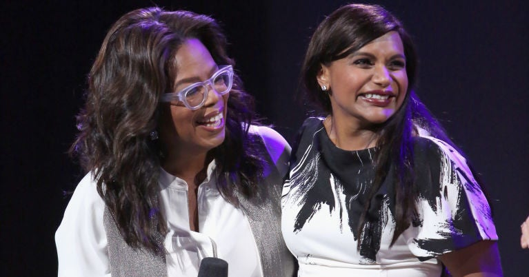 Oprah Sent Mindy Kaling The Most Epic Baby Present And It's So Freakin' Adorable