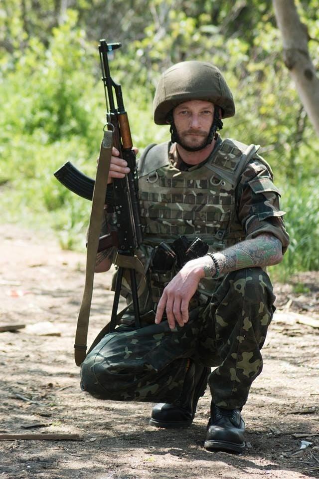 Mikus Alps in action in Ukraine.