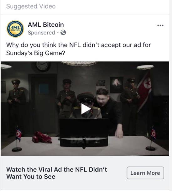 cryptocurrency super bowl ad