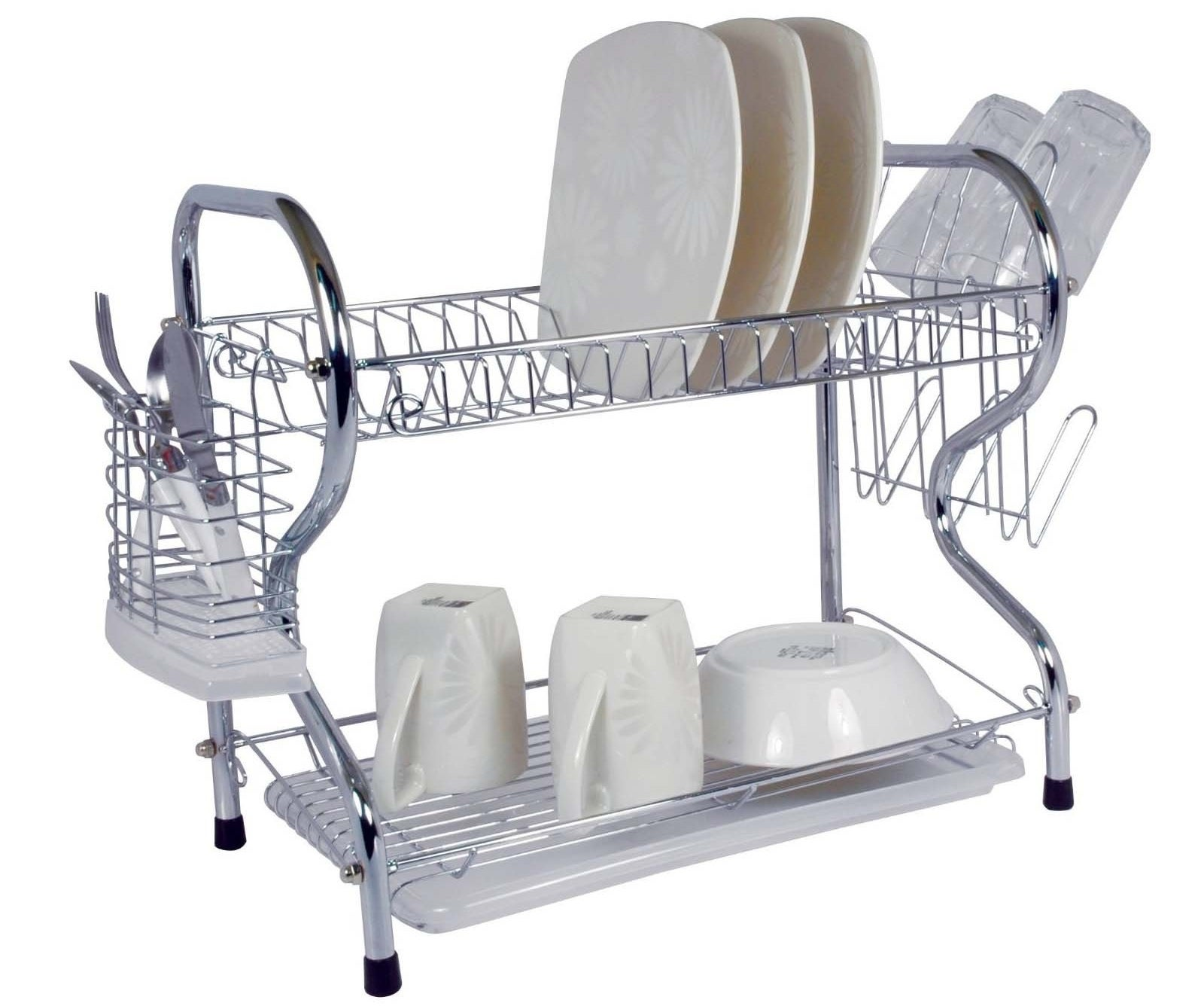 A 22-inch dish rack that can literally hold all of the things.