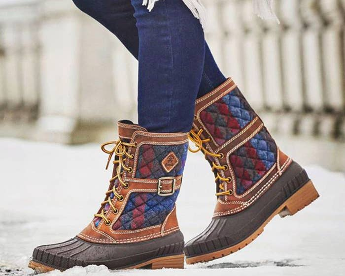 3563428329d A pair of Kamik Sienna waterproof winter boots for an insulated and  practical shoe that s also totally stylish.