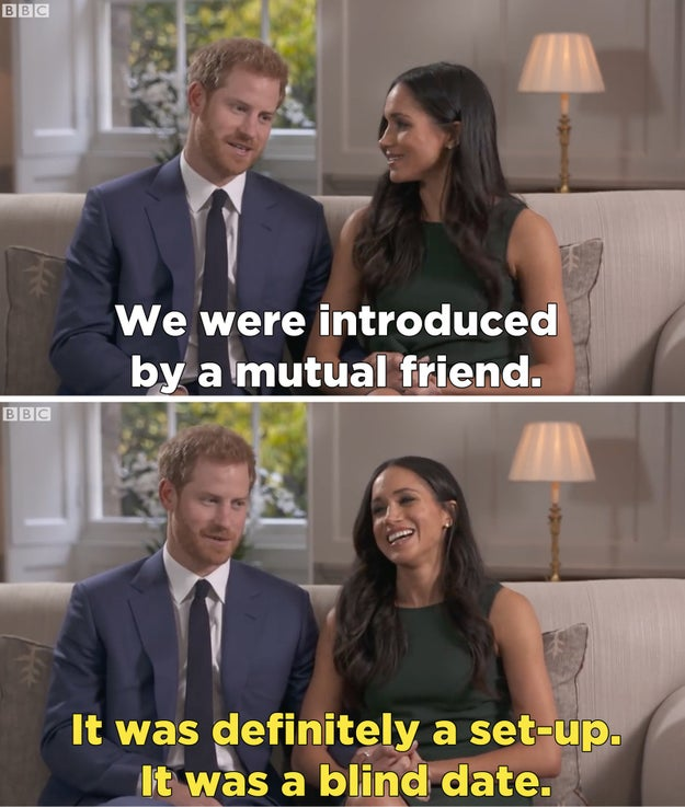 "According to a press release, the movie will chronicle the couple's first meeting, their initial courtship, and the ""intense global media attention surrounding their relationship and Meghan's life as a divorced American actress."""