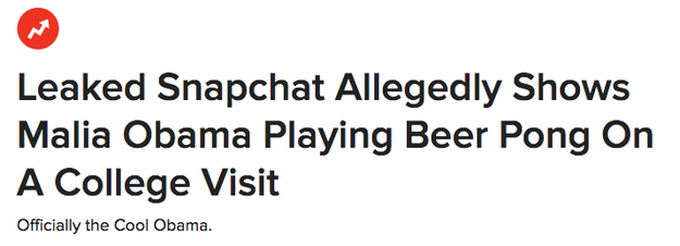 She's the queen of alleged beer pong during college visits: