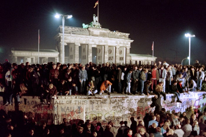 For nearly three decades, the wall kept East Berliners from fleeing their half of the divided city, keeping them inside communist East Germany, even as West Berlin was under capitalist control. But in 1989 the symbol of Cold War division finally fell as protesters, then the government itself, ripped it down.