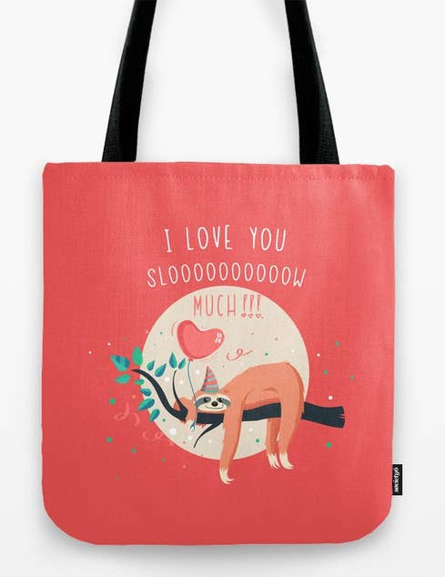 238177e823 A tote bag you can fill with your special person s favorite things! It ll  be toteally romantic.