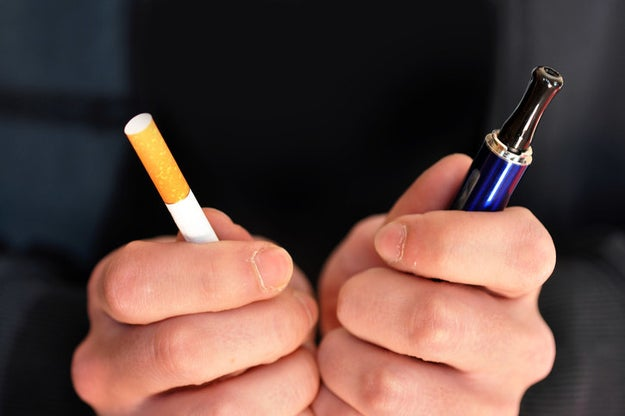 So there you have it: While e-cigarettes might help adults quit smoking, they can also hook young nonsmokers on nicotine.