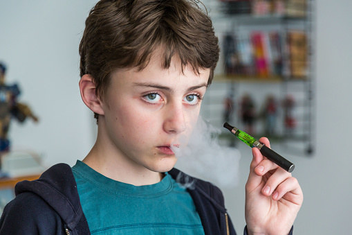 And nicotine is highly addictive, so if you don't already smoke you should not start using the JUUL or any other e-cigarette.