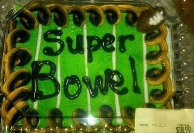 This cake decorator must have been having a shitty day: