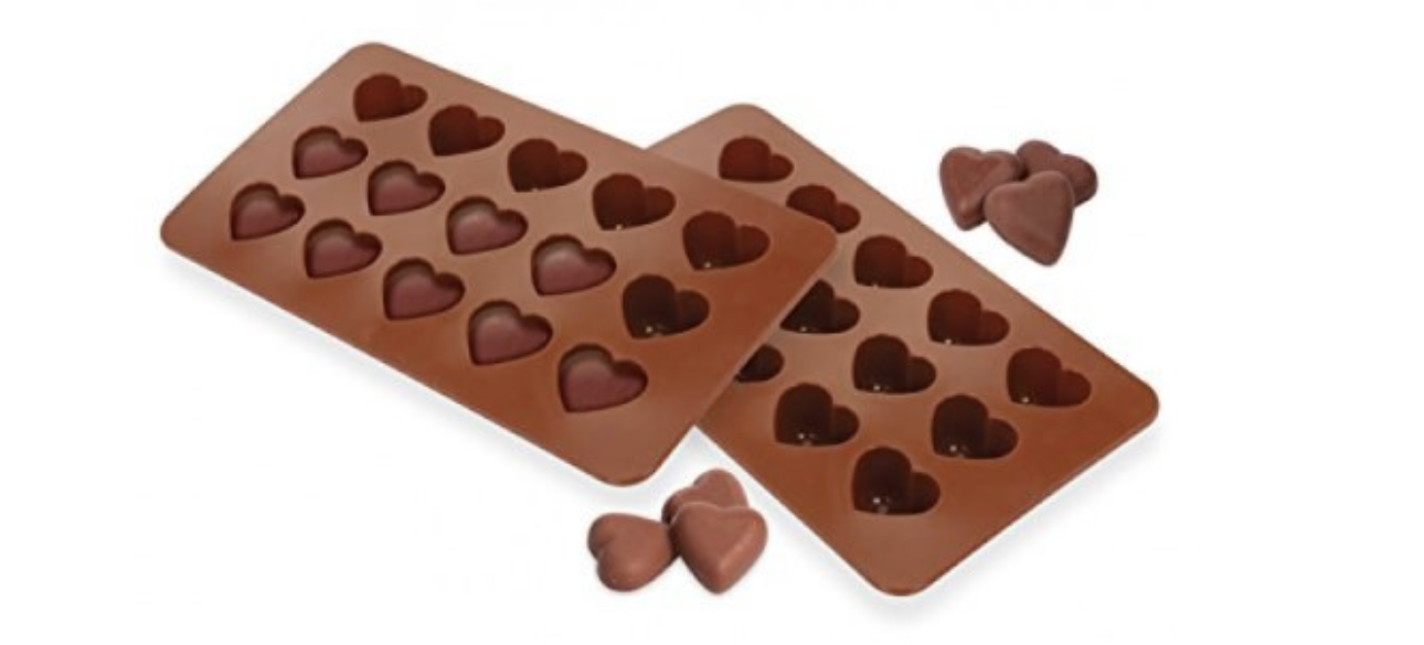 A silicone mold set that's non-toxic and made to last so you can design your very own heart-shaped treats forever.
