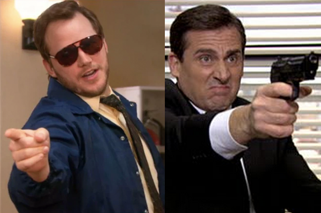...Which means Burt Macklin and Agent Michael Scarn would almost certainly team up at some point.