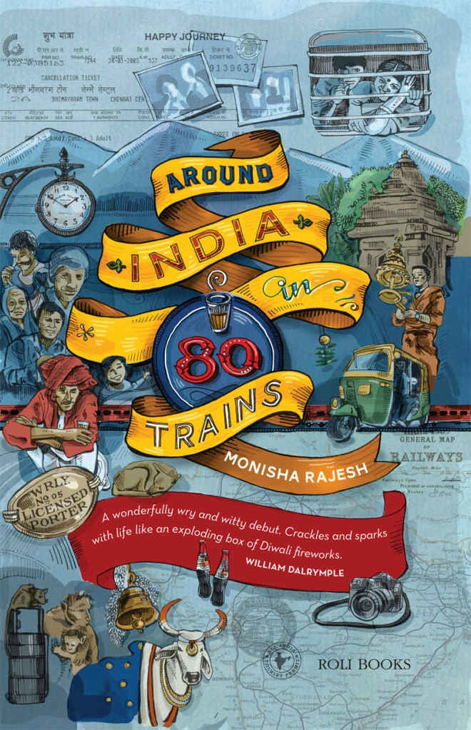What it's about: In a bid to uncover her estranged country of origin, London-based author Monisha Rajesh embarks on an adventure à la Jules Verne except that she decides to travel across India in 80 trains. With a militant atheist as her companion, she discovers shady characters, peculiar smells, and the many delightful and rather bewildering stories that the Indian Railways have to tell.
