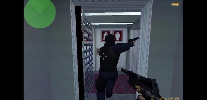 The original Counter-Strike game.