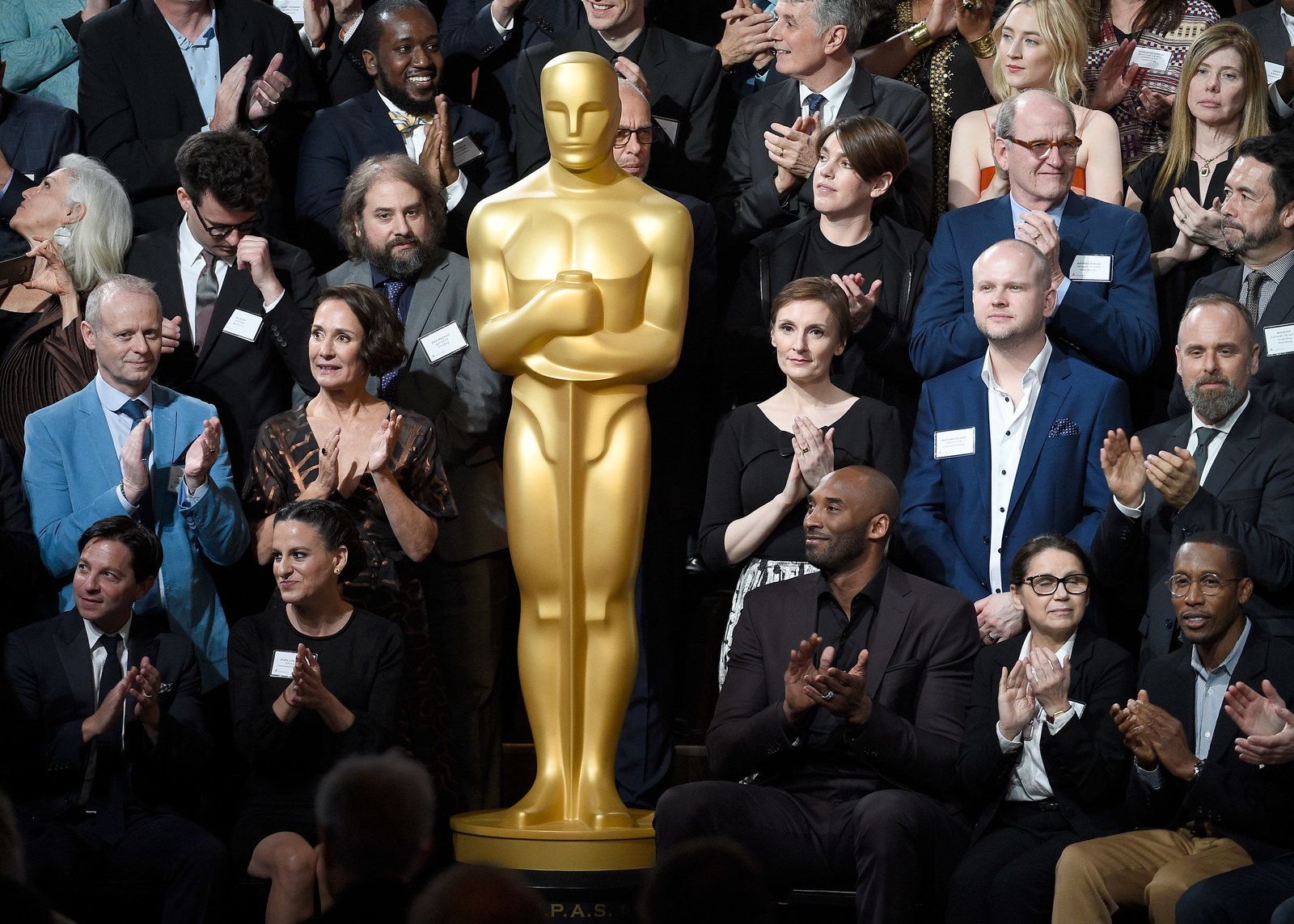 Oscar nominees class photo 40