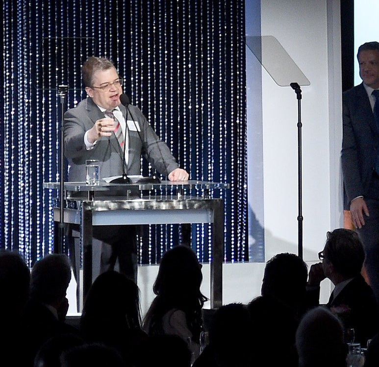 Patton Oswalt during the Oscar Nominee Luncheon at the Beverly Hilton Hotel on Feb. 5, 2018.