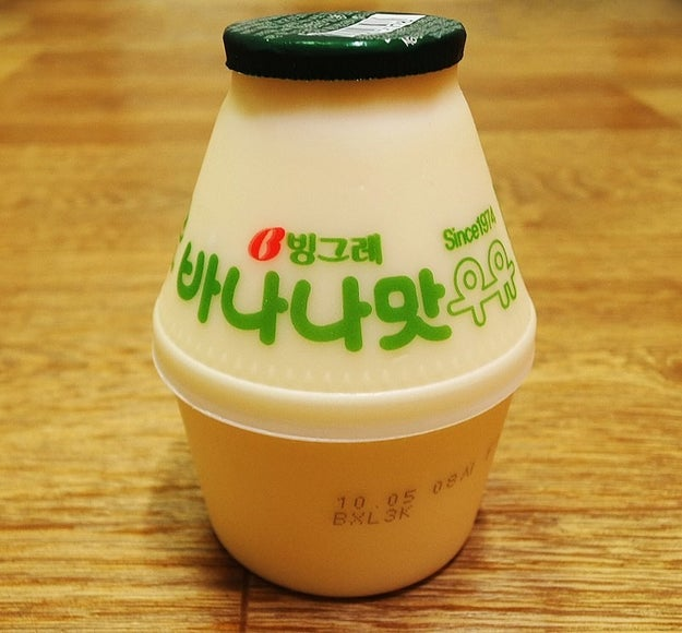 However, the true gem of Korean snacks is undoubtedly banana milk, particularly Binggrae banana milk.